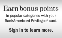 Earn bonus points